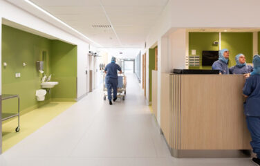 Sprinklerentreprenad sjukhus